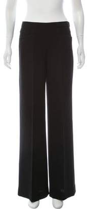 Donna Karan High-Rise Wide-Leg Pants