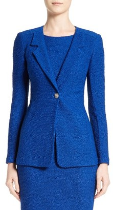 Women's St. John Collection Newport Knit Jacket $1,395 thestylecure.com