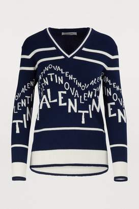 Valentino V-neck sweater