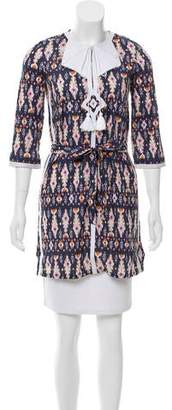 Figue Embroidered Printed Tunic w/ Tags