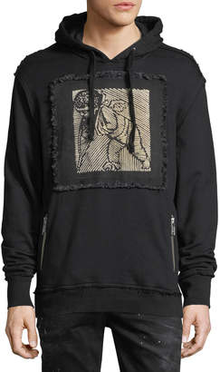 PRPS Distressed Cherub Patch Hoodie