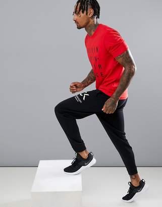 Calvin Klein cuffed logo joggers