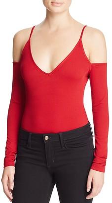 Cotton Candy LA Cold Shoulder Bodysuit $68 thestylecure.com