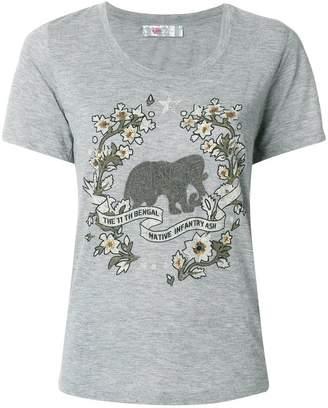 Ash printed T-shirt