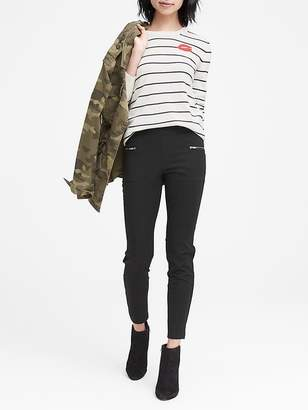 Banana Republic Ponte Moto Legging