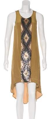 Haute Hippie Silk Sequined Dress