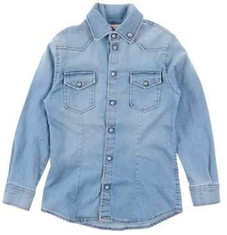 (+) People Denim shirt
