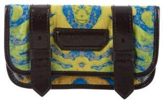 Proenza Schouler Jacquard Leather-Trimmed Wallet