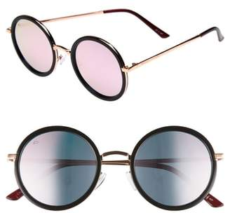 Privé Revaux x Madelaine Petsch The Street 53mm Round Sunglasses