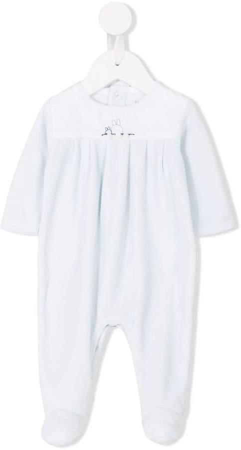 Knot Pyjama mit kleinen Häschen