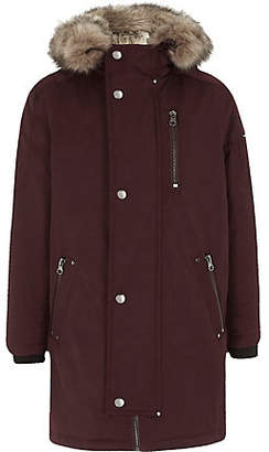 90050c1a3 Red Faux Fur Kids - ShopStyle UK