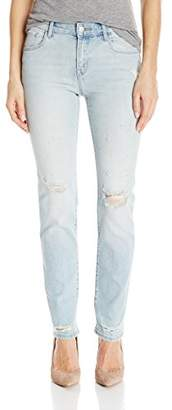 J Brand Jeans Women's Amelia Mid Rise Straight