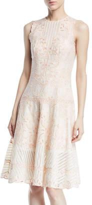 Jonathan Simkhai Embroidered Cutout Dress