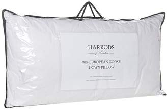 Harrods 90% European Goose Down King Pillow