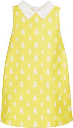 Charabia Lola Kitten Print Sleeveless Dress Size 4-8