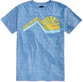 C&C California Men's Into The Sun Heather Graphic-Print T-Shirt