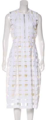 Celine Lattice Midi Dress