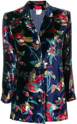 Kenzo Pre-Owned floral blazer