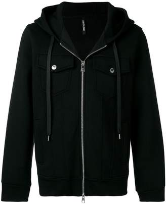 Neil Barrett zipped hoodie