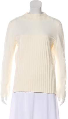 Cédric Charlier Rib Knit Long Sleeve Sweater
