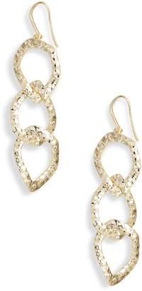 Melinda Maria Chain Link Linear Drop Earrings