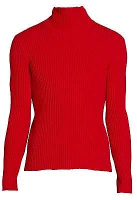 Balenciaga Men's Ribbed Turtleneck Pullover