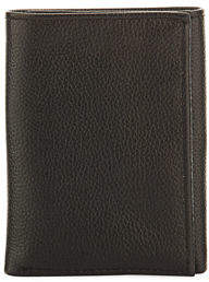 Neiman Marcus RFID Trifold Leather Wallet