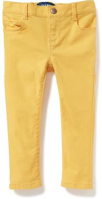 Pop-Color Skinny Jeans for Toddler Girls $19.94 thestylecure.com