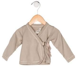 Douuod Girls' Wrap Long Sleeve Top