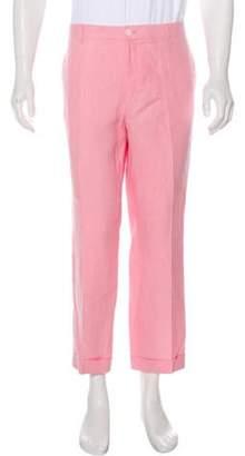 Ralph Lauren Purple Label Linen Dress Pants pink Linen Dress Pants