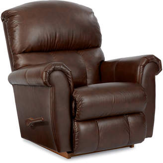La-Z-Boy Briggs Leather Recliner Reclining Type: Manual, Motion Type: Rocker,