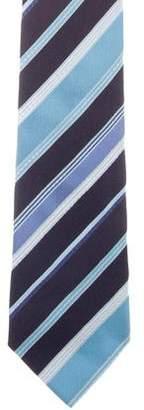 Etro Striped Silk Tie