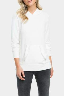Tart Collections Clarice Ruffle Modal-Hoodie