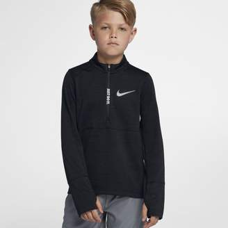 Nike Older Kids'(Boys') Half-Zip Running Top