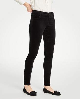 Ann Taylor Tall Curvy Skinny Velvet Jeans