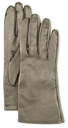 Portolano Metallic Napa Leather Gloves