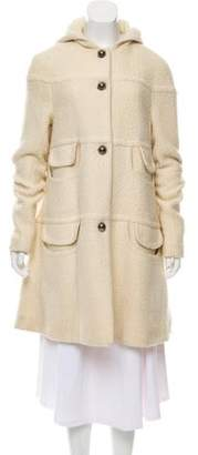 Martin Grant Wool Hooded Coat