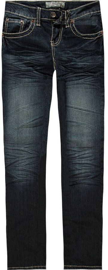 YMI Jeanswear Whipped Stitch Girls Skinny Jeans