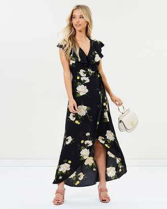 Miss Selfridge Marjorie Floral Print Maxi Dress