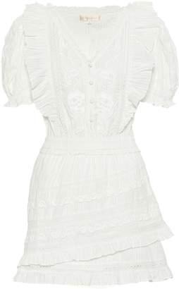 LoveShackFancy Sutton cotton minidress