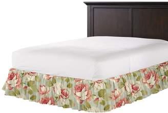 Loom Decor Ruffle Bedskirt Tea Rose - Waterlily