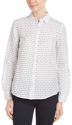 J.Mclaughlin Linen-Blend Shirt