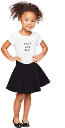 Milly Minis MillyMilly Structured Flare Skirt