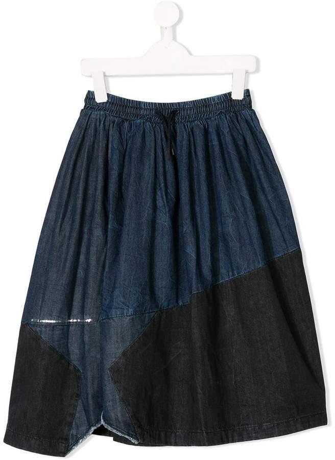 Diesel Kids Givaly denim skirt