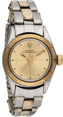 Rolex Oyster Perpetual Watch $1,745 thestylecure.com