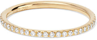 Ileana Makri Thread 18-karat Gold Diamond Eternity Ring