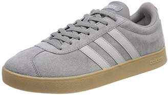 finest selection d2ee3 9865a adidas Menss VL Court 2.0 Gymnastics Shoes, Grau Grey Three F17Grey Two  F17