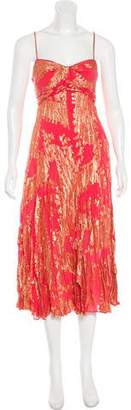 Diane von Furstenberg Silk Maxi Evening Dress