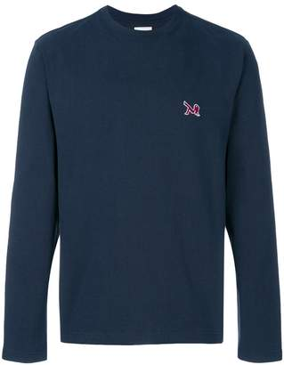 Calvin Klein patch-appliqué sweatshirt