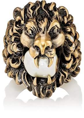 Gucci Men's Lion Head Ring